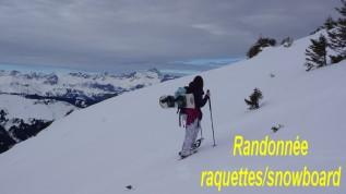 Randos raquette-surf