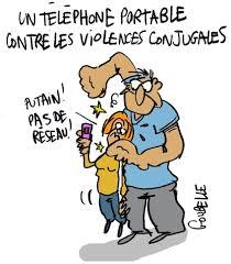 Portable contre violences